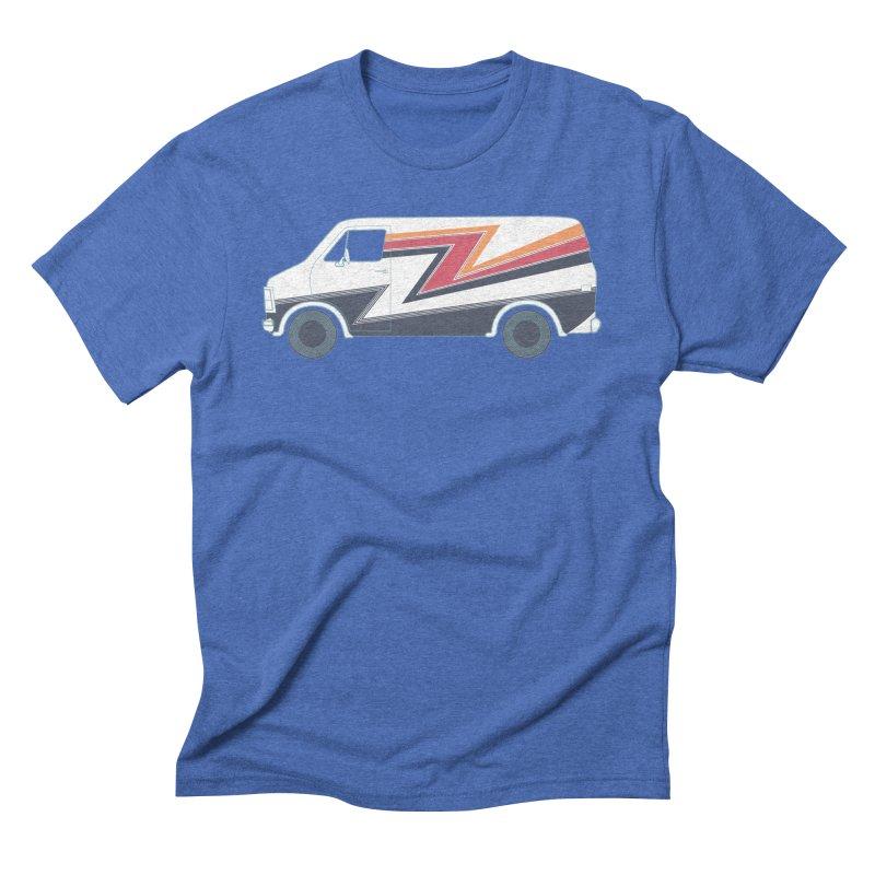 Bad Ass Van Men's T-Shirt by jjqad's Artist Shop