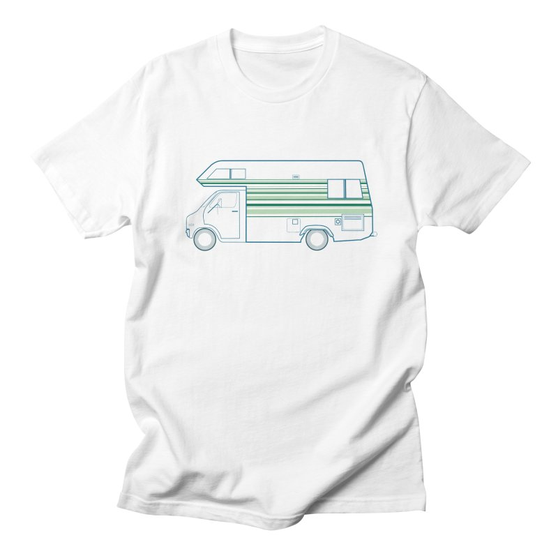 RV #4 in Women's Regular Unisex T-Shirt White by jjqad's Artist Shop