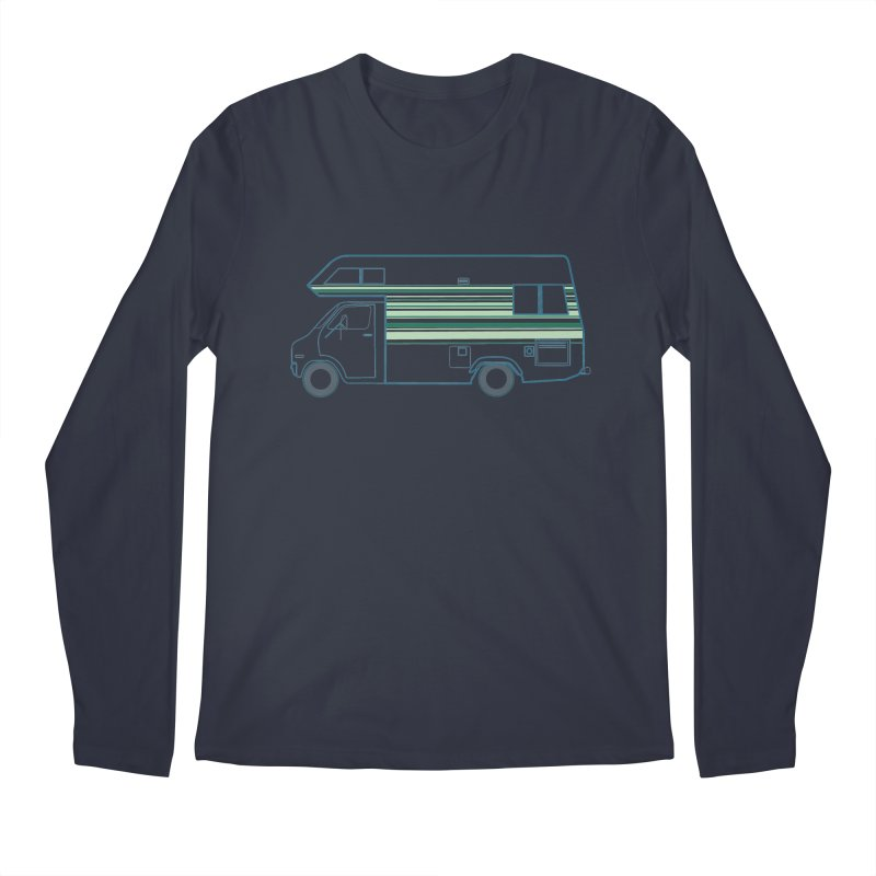 RV #4 Men's Regular Longsleeve T-Shirt by jjqad's Artist Shop