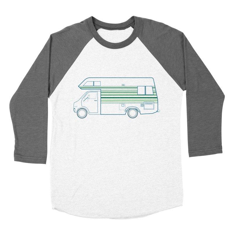 RV #4 Women's Baseball Triblend Longsleeve T-Shirt by jjqad's Artist Shop