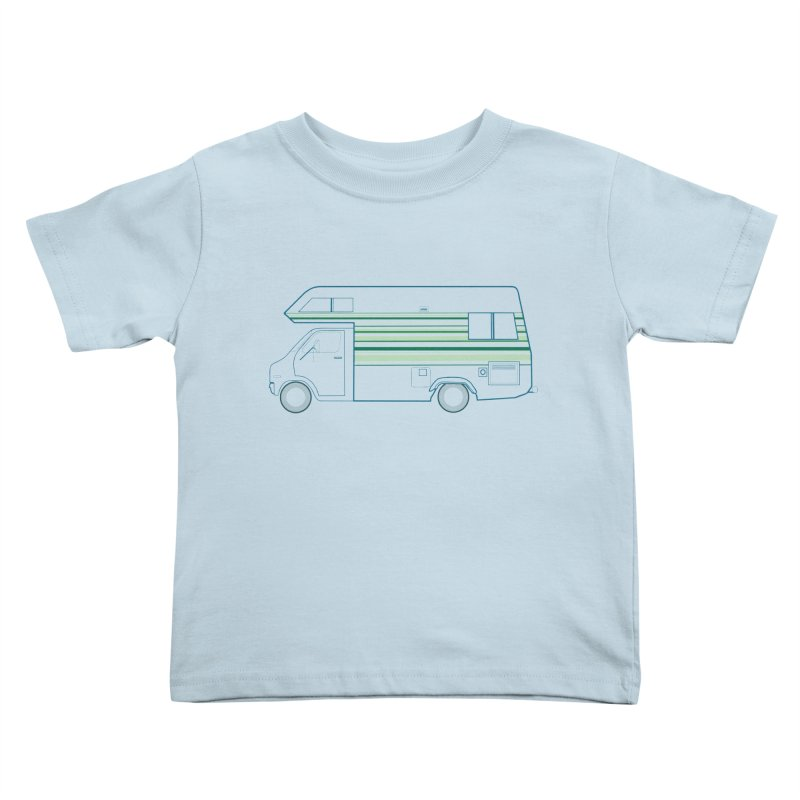 RV #4 Kids Toddler T-Shirt by jjqad's Artist Shop