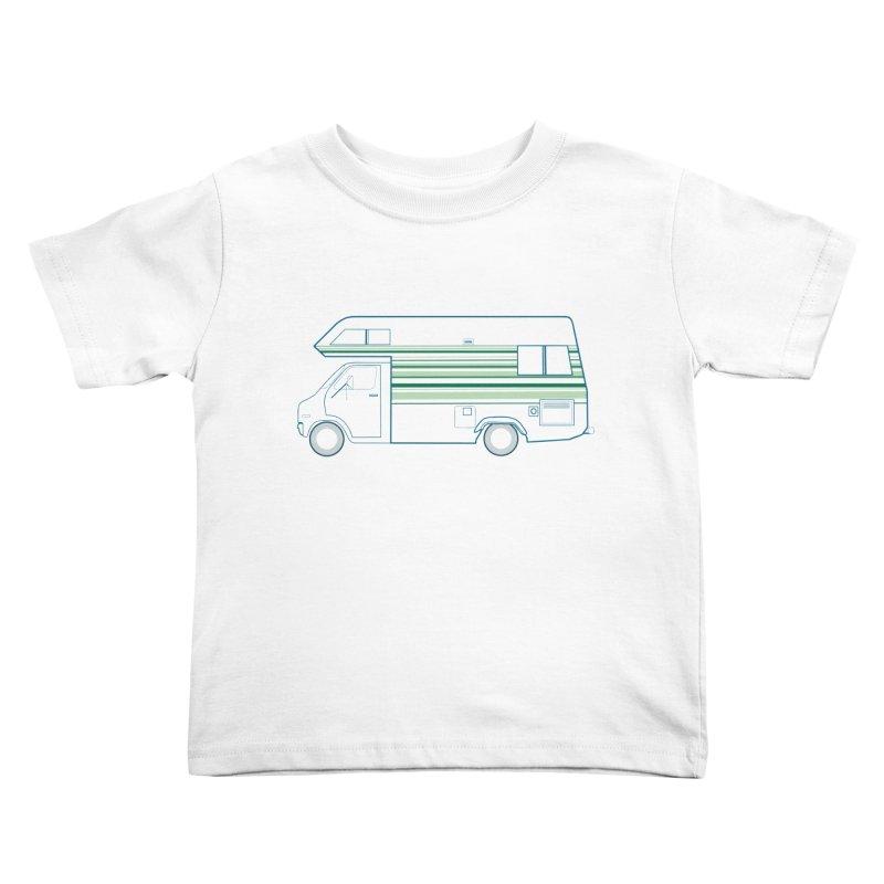 RV #4 Kids Toddler T-Shirt by jjqad's Artist Shop