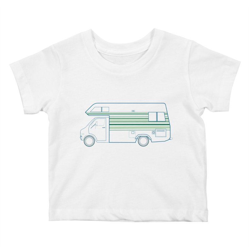 RV #4 Kids Baby T-Shirt by jjqad's Artist Shop
