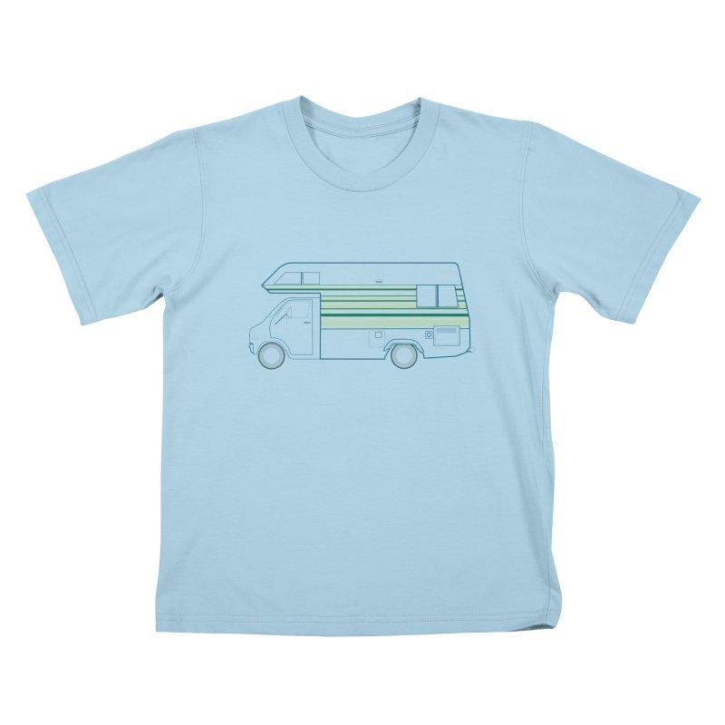 RV #4 Kids T-Shirt by jjqad's Artist Shop