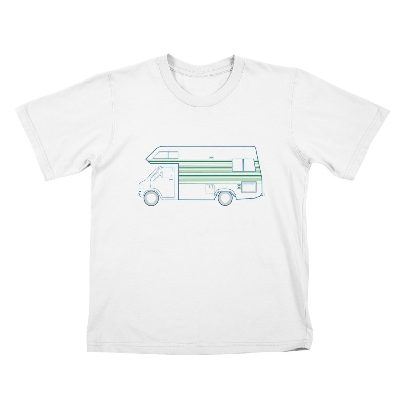 RV #4 Kids T-Shirt by jjqad's Artist Shop