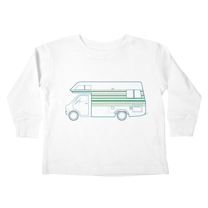 RV #4 Kids Toddler Longsleeve T-Shirt by jjqad's Artist Shop