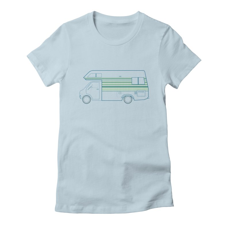RV #4 Women's Fitted T-Shirt by jjqad's Artist Shop