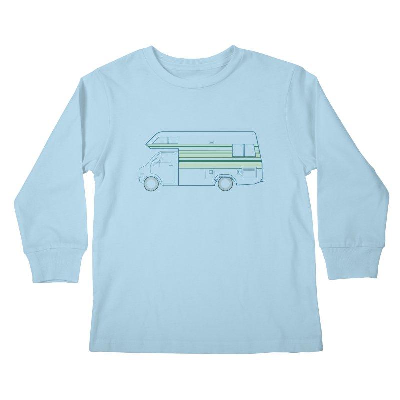 RV #4 Kids Longsleeve T-Shirt by jjqad's Artist Shop