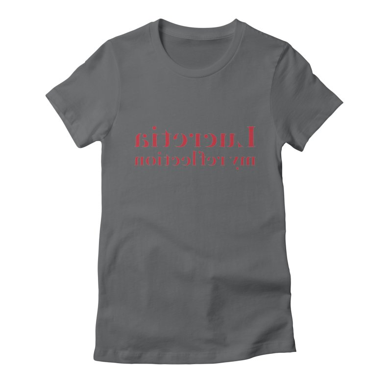 My Reflection Women's Fitted T-Shirt by jjqad's Artist Shop