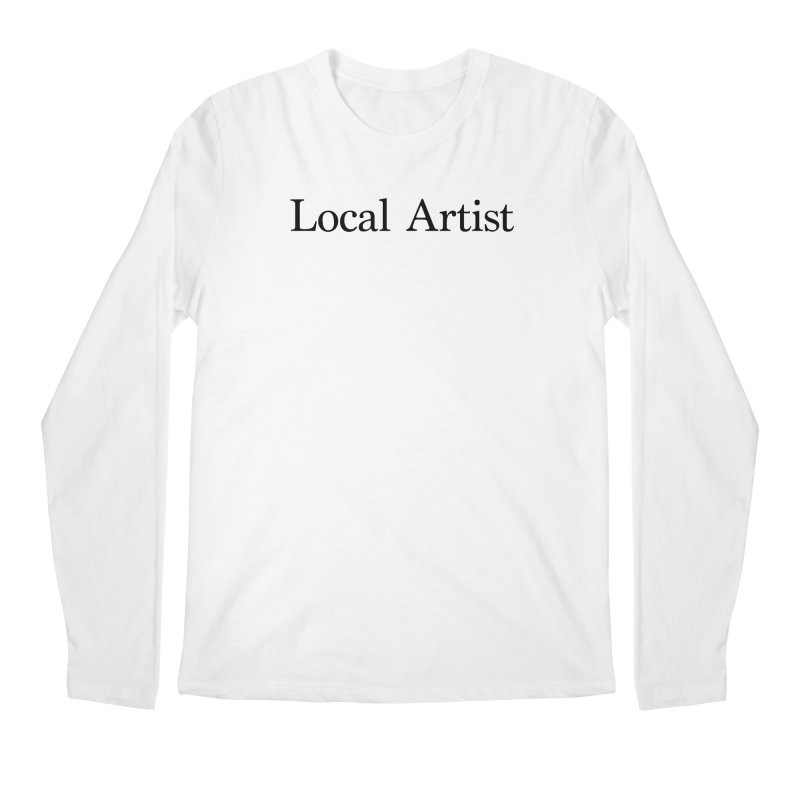 Local Artist Men's Regular Longsleeve T-Shirt by jjqad's Artist Shop