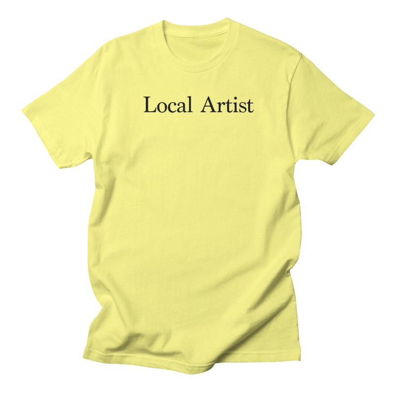 Local Artist Men's Regular T-Shirt by jjqad's Artist Shop
