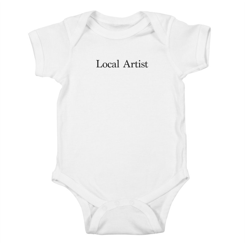Local Artist Kids Baby Bodysuit by jjqad's Artist Shop