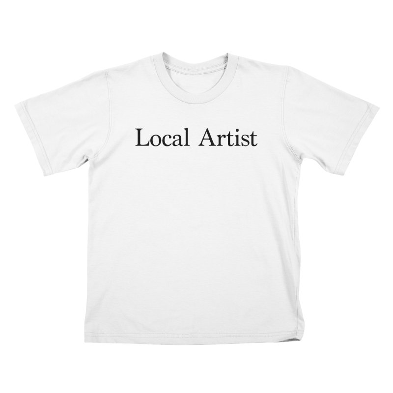 Local Artist Kids T-Shirt by jjqad's Artist Shop