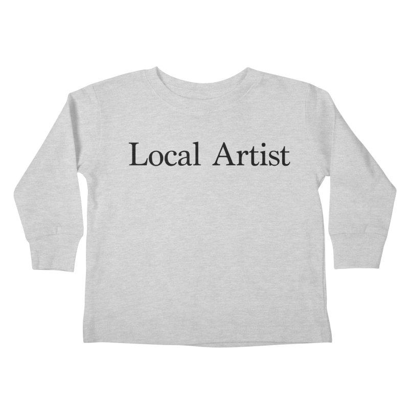 Local Artist Kids Toddler Longsleeve T-Shirt by jjqad's Artist Shop