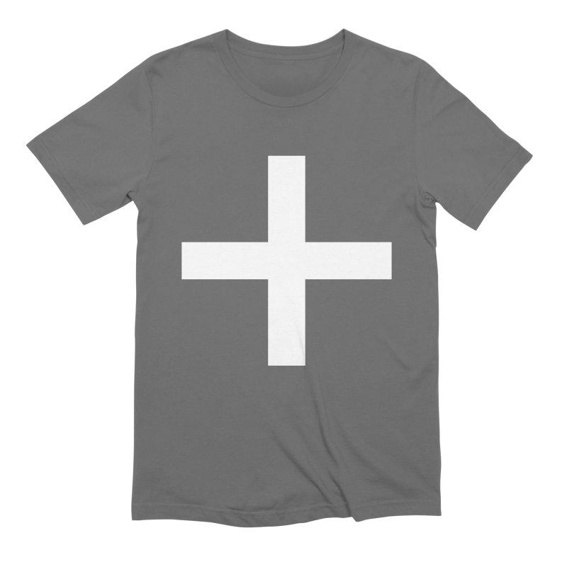 Plus (dark shirts) Men's T-Shirt by jjqad's Artist Shop