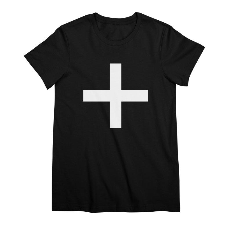 Plus (dark shirts) Women's Premium T-Shirt by jjqad's Artist Shop