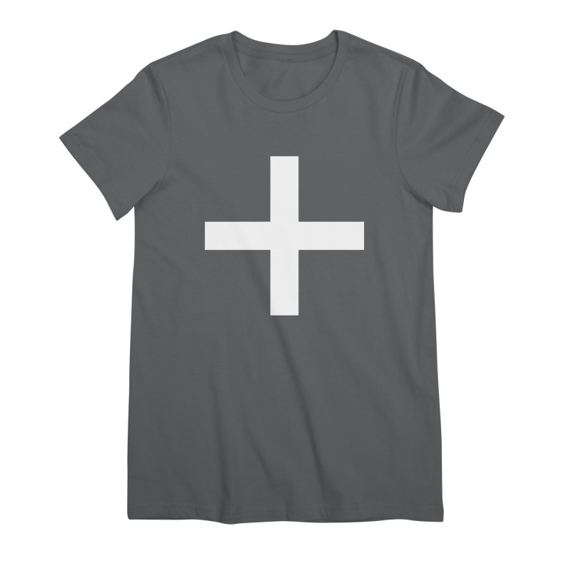 Plus (dark shirts) Women's T-Shirt by jjqad's Artist Shop