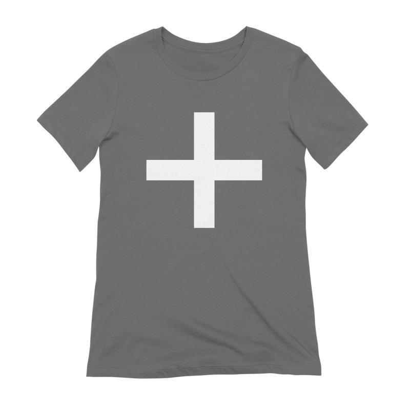Plus (dark shirts) Women's Extra Soft T-Shirt by jjqad's Artist Shop