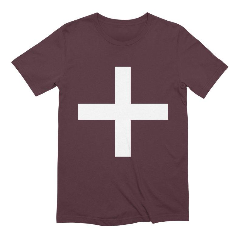 Plus (dark shirts) Men's Extra Soft T-Shirt by jjqad's Artist Shop
