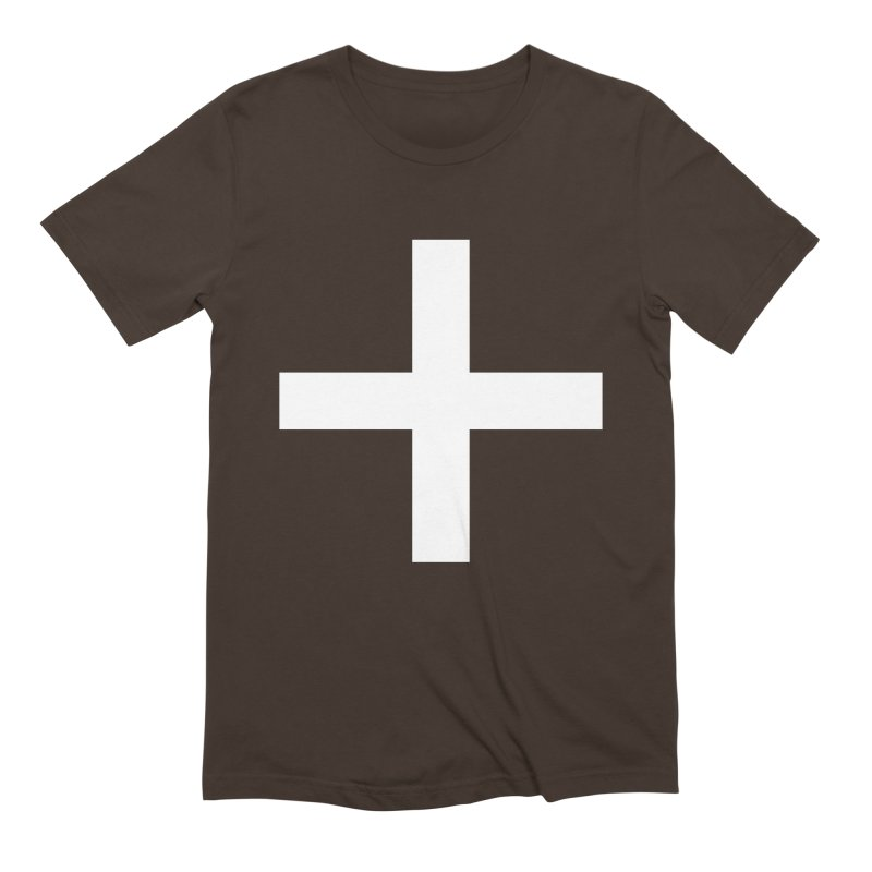 Plus (dark shirts) Men's Extra Soft T-Shirt by jjqad's Artist Shop