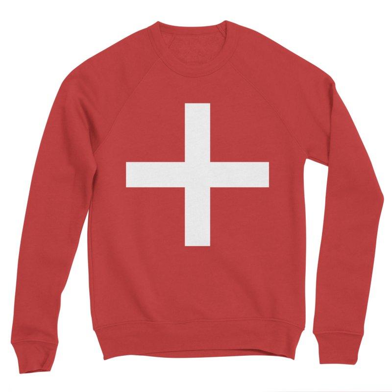 Plus (dark shirts) Men's Sponge Fleece Sweatshirt by jjqad's Artist Shop