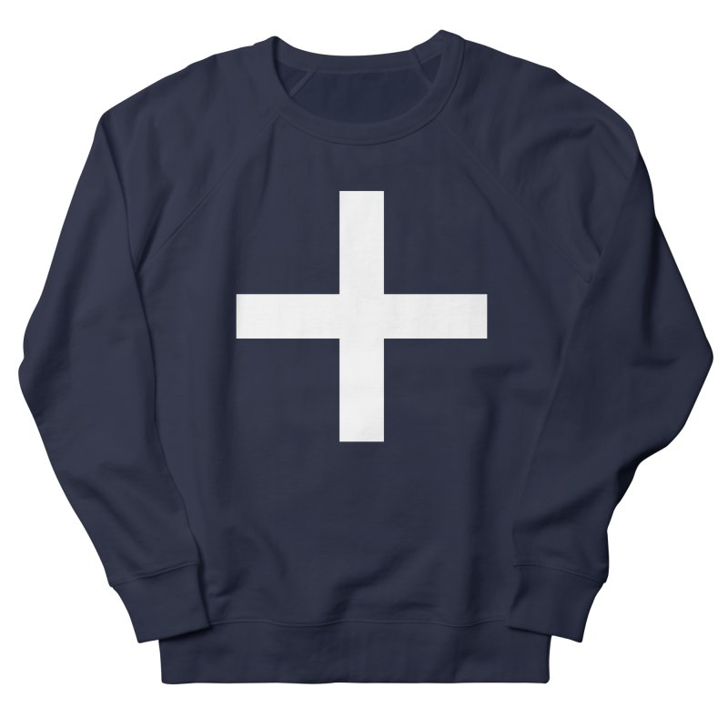 Plus (dark shirts) Men's French Terry Sweatshirt by jjqad's Artist Shop
