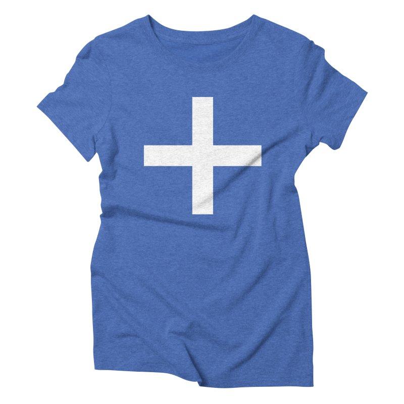 Plus (dark shirts) Women's Triblend T-Shirt by jjqad's Artist Shop
