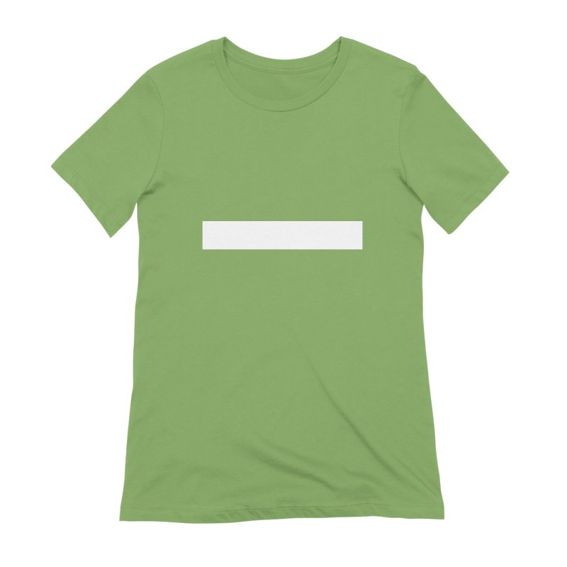 Minus (dark shirts) Women's Extra Soft T-Shirt by jjqad's Artist Shop