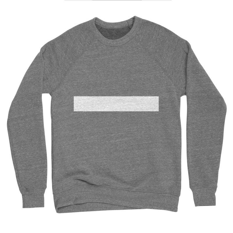 Minus (dark shirts) Men's Sponge Fleece Sweatshirt by jjqad's Artist Shop