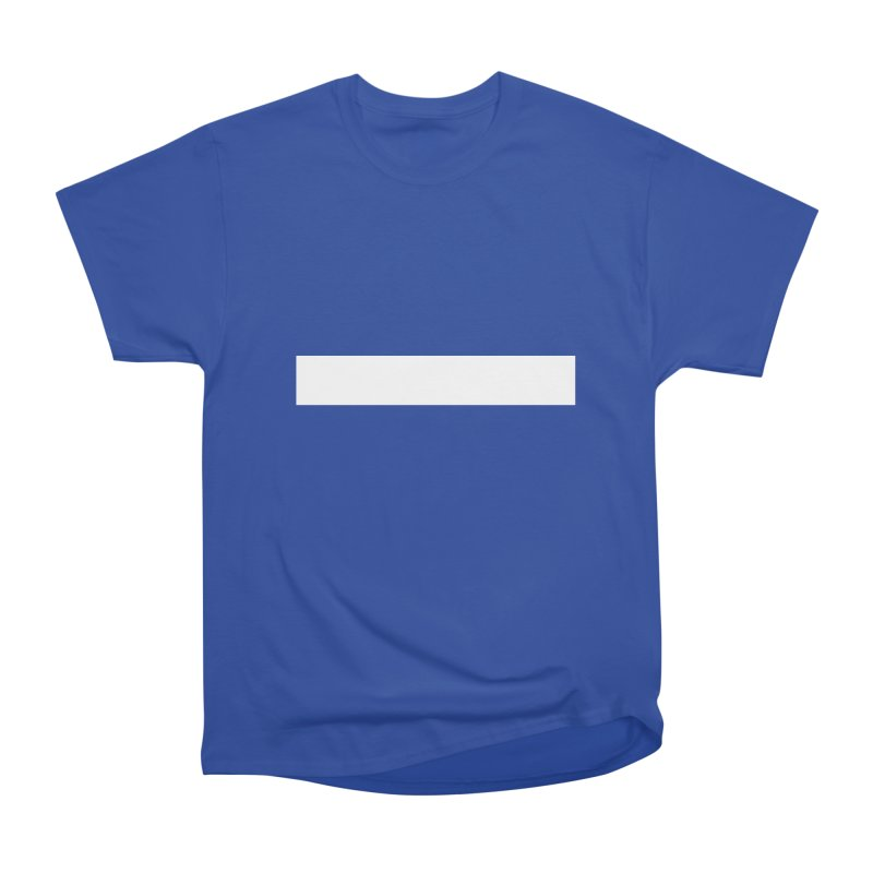 Minus (dark shirts) Men's Heavyweight T-Shirt by jjqad's Artist Shop