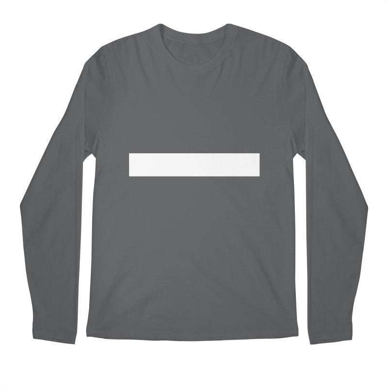 Minus (dark shirts) Men's Regular Longsleeve T-Shirt by jjqad's Artist Shop