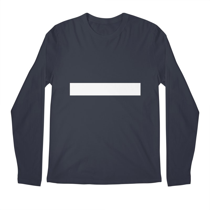Minus (dark shirts) Men's Regular Longsleeve T-Shirt by jjqad's Artist Shop