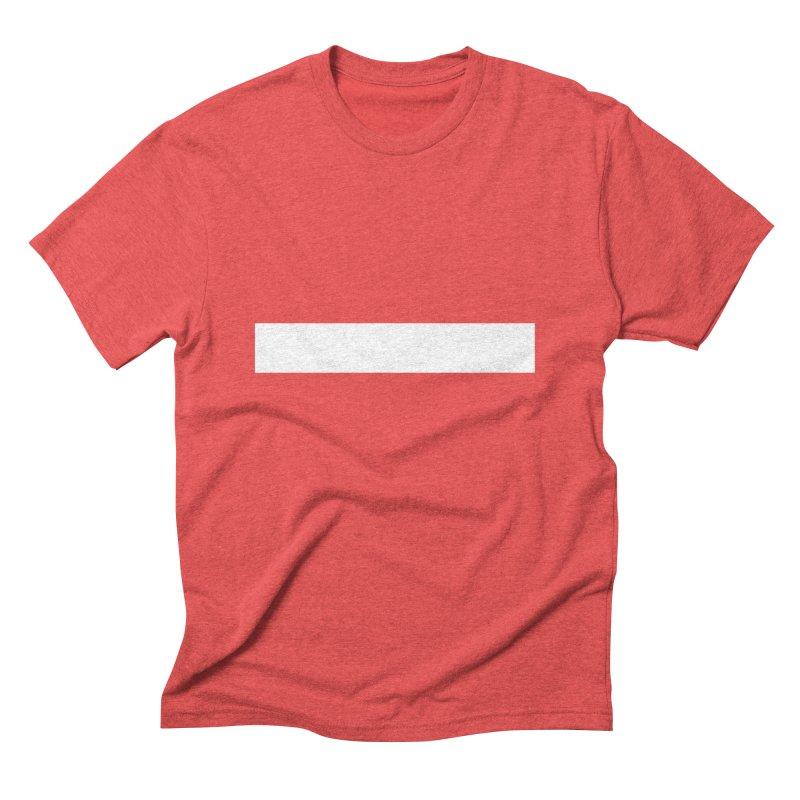 Minus (dark shirts) Men's Triblend T-Shirt by jjqad's Artist Shop