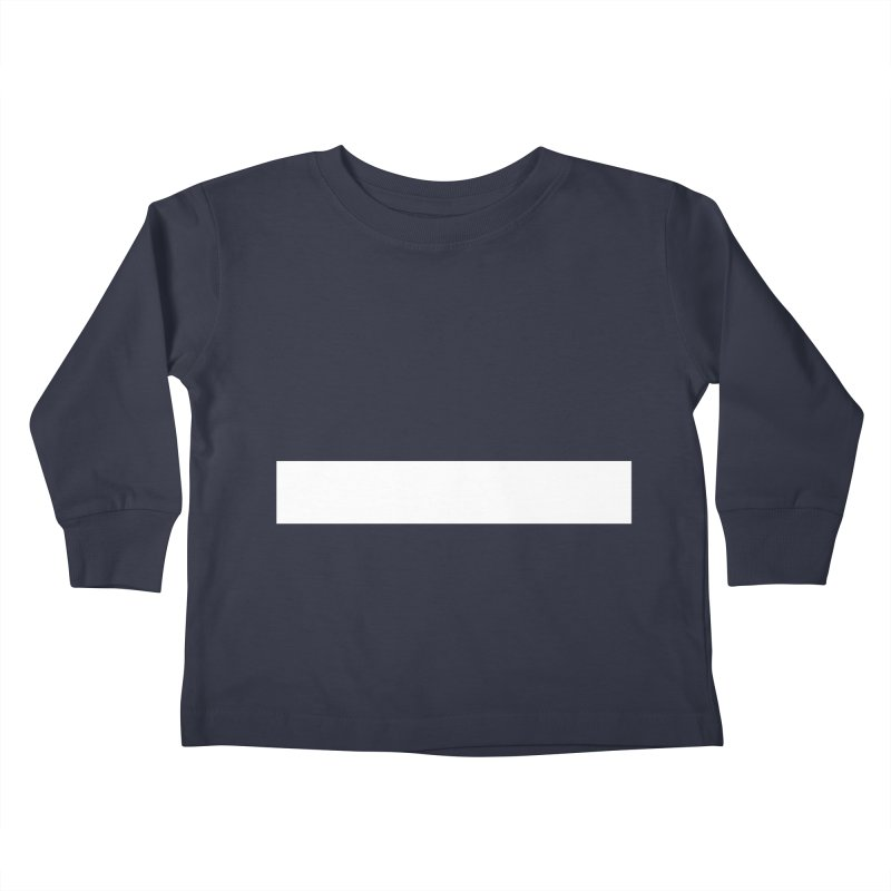 Minus (dark shirts) Kids Toddler Longsleeve T-Shirt by jjqad's Artist Shop