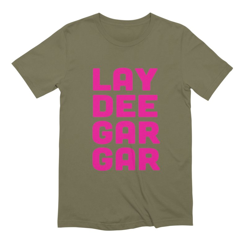 Lay Dee Gar Gar Men's Extra Soft T-Shirt by jjqad's Artist Shop