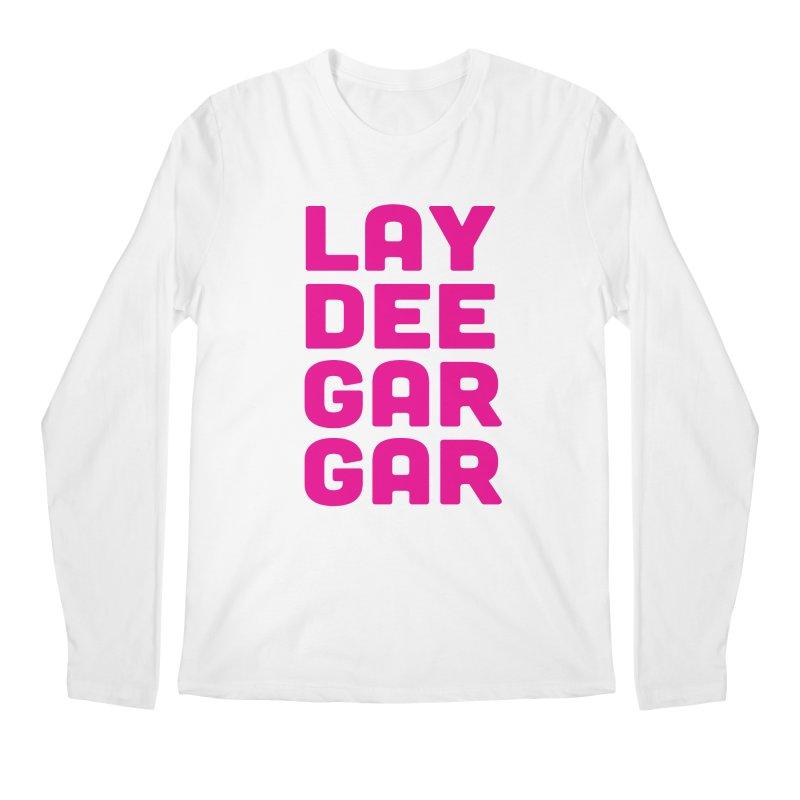 Lay Dee Gar Gar Men's Regular Longsleeve T-Shirt by jjqad's Artist Shop