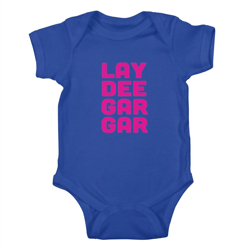 Lay Dee Gar Gar Kids Baby Bodysuit by jjqad's Artist Shop