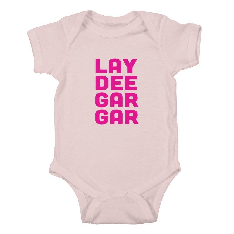Lay Dee Gar Gar Kids Baby Bodysuit by jjqad's Artist Shop