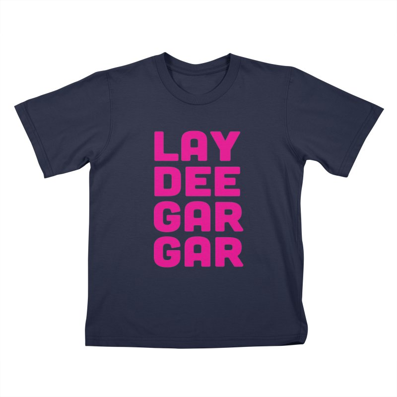 Lay Dee Gar Gar Kids T-Shirt by jjqad's Artist Shop
