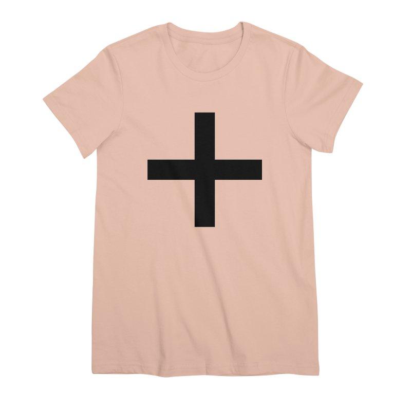 Plus (light shirts) Women's Premium T-Shirt by jjqad's Artist Shop