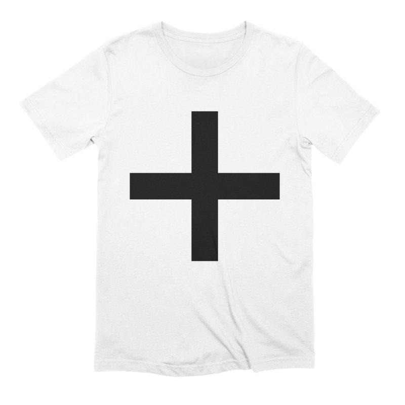 Plus (light shirts) Men's Extra Soft T-Shirt by jjqad's Artist Shop