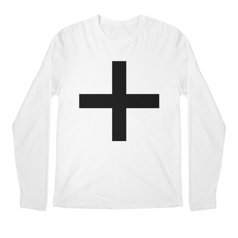 Plus (light shirts) Men's Regular Longsleeve T-Shirt by jjqad's Artist Shop