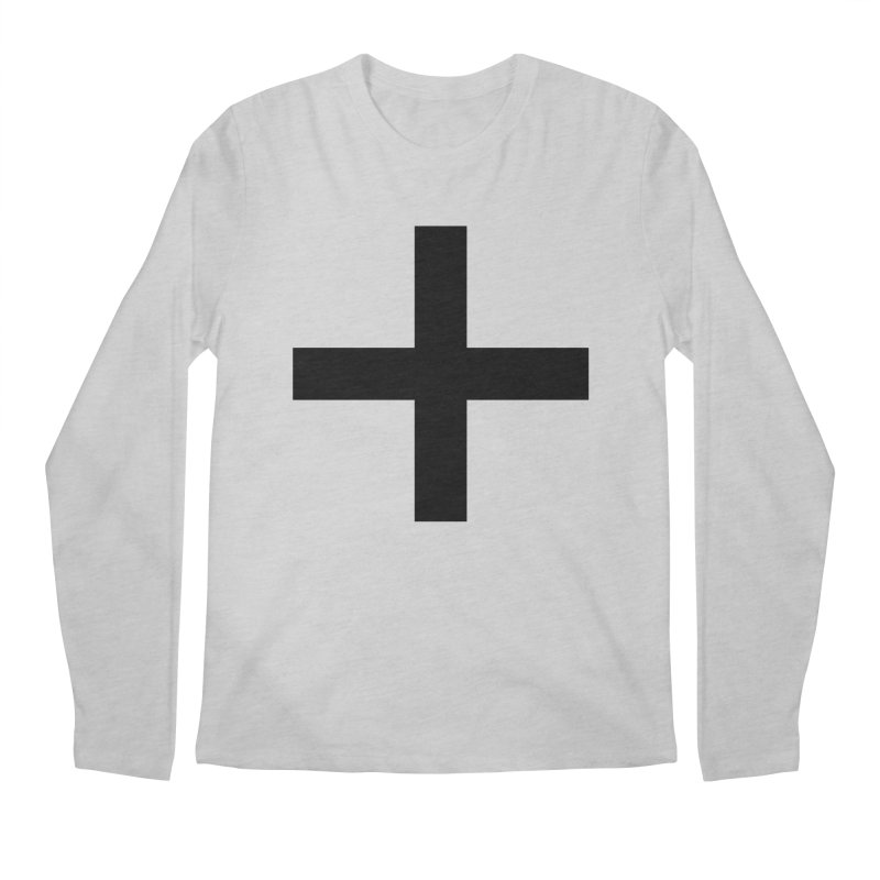 Plus (light shirts) Men's Regular Longsleeve T-Shirt by jjqad's Artist Shop