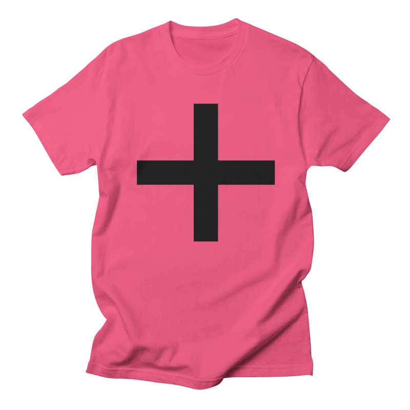 Plus (light shirts) Women's Regular Unisex T-Shirt by jjqad's Artist Shop