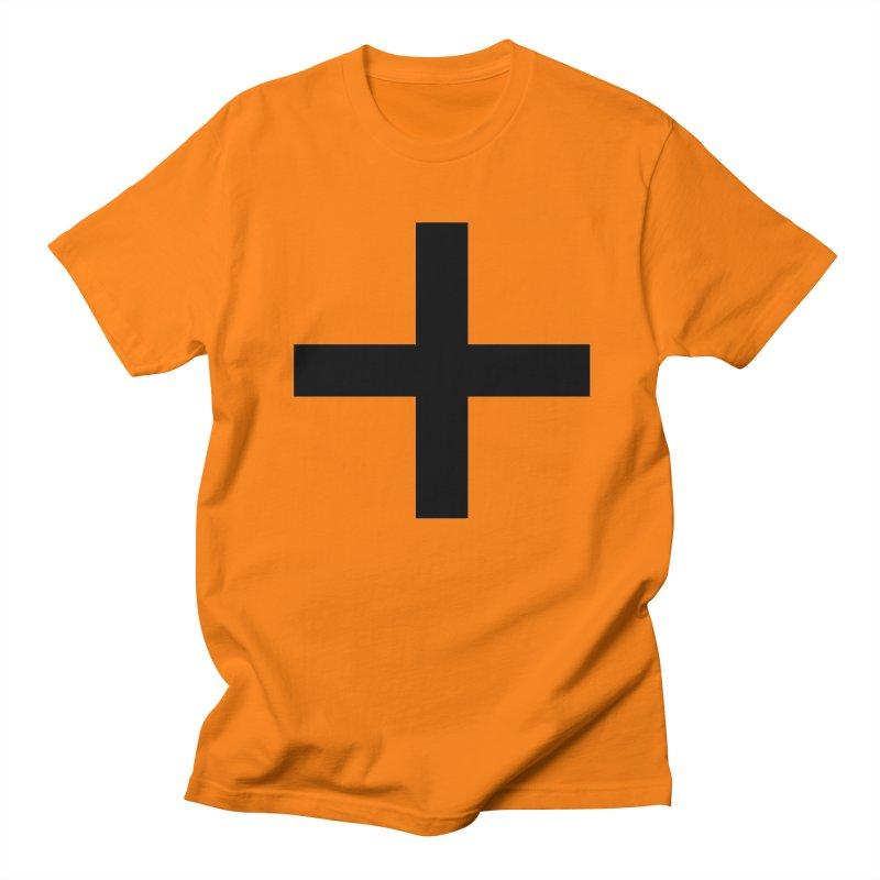 Plus (light shirts) Men's Regular T-Shirt by jjqad's Artist Shop