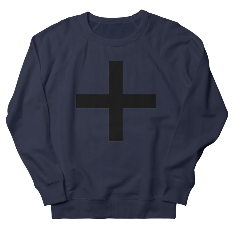 Plus (light shirts) Men's French Terry Sweatshirt by jjqad's Artist Shop
