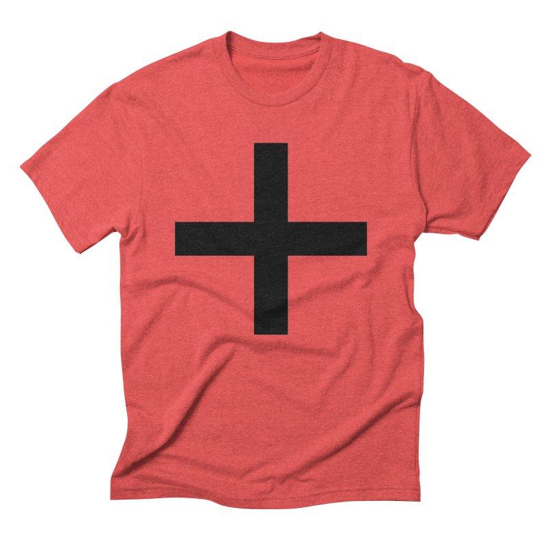 Plus (light shirts) Men's Triblend T-Shirt by jjqad's Artist Shop
