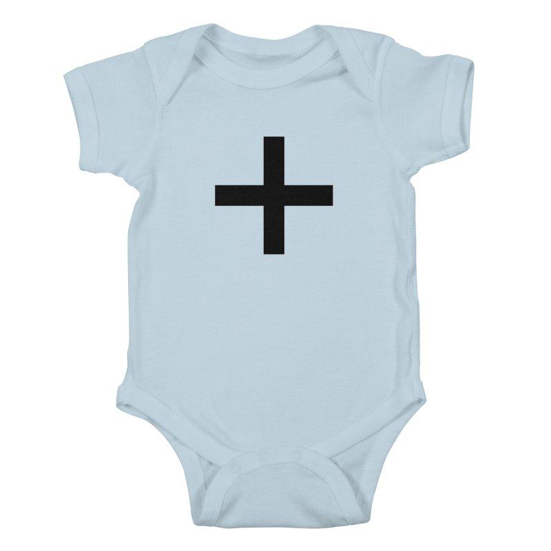 Plus (light shirts) Kids Baby Bodysuit by jjqad's Artist Shop