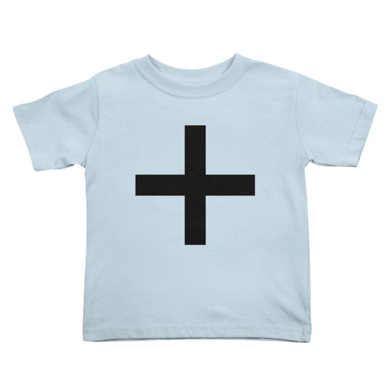 Plus (light shirts) Kids Toddler T-Shirt by jjqad's Artist Shop