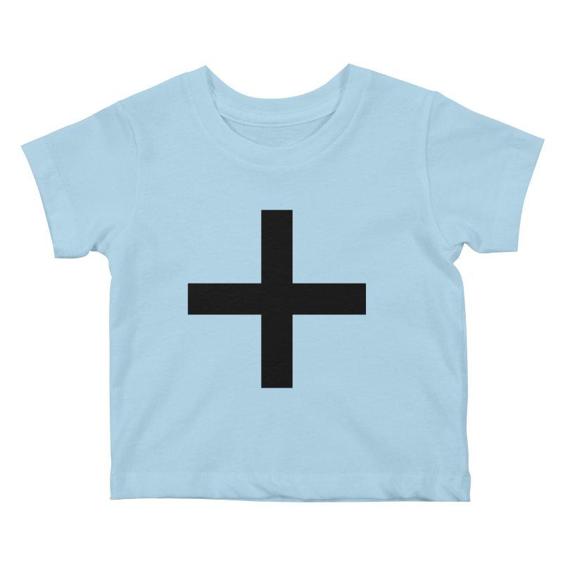 Plus (light shirts) Kids Baby T-Shirt by jjqad's Artist Shop